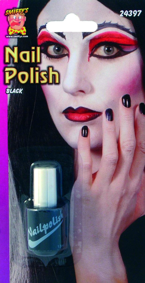 Déguisement Maquillage Vernis à ongles noir