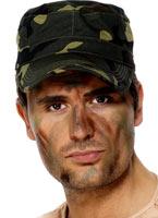 Armée composent 3 couleurs Déguisement Maquillage