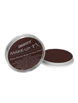 Visage et corps peinture brun foncé Déguisement Maquillage
