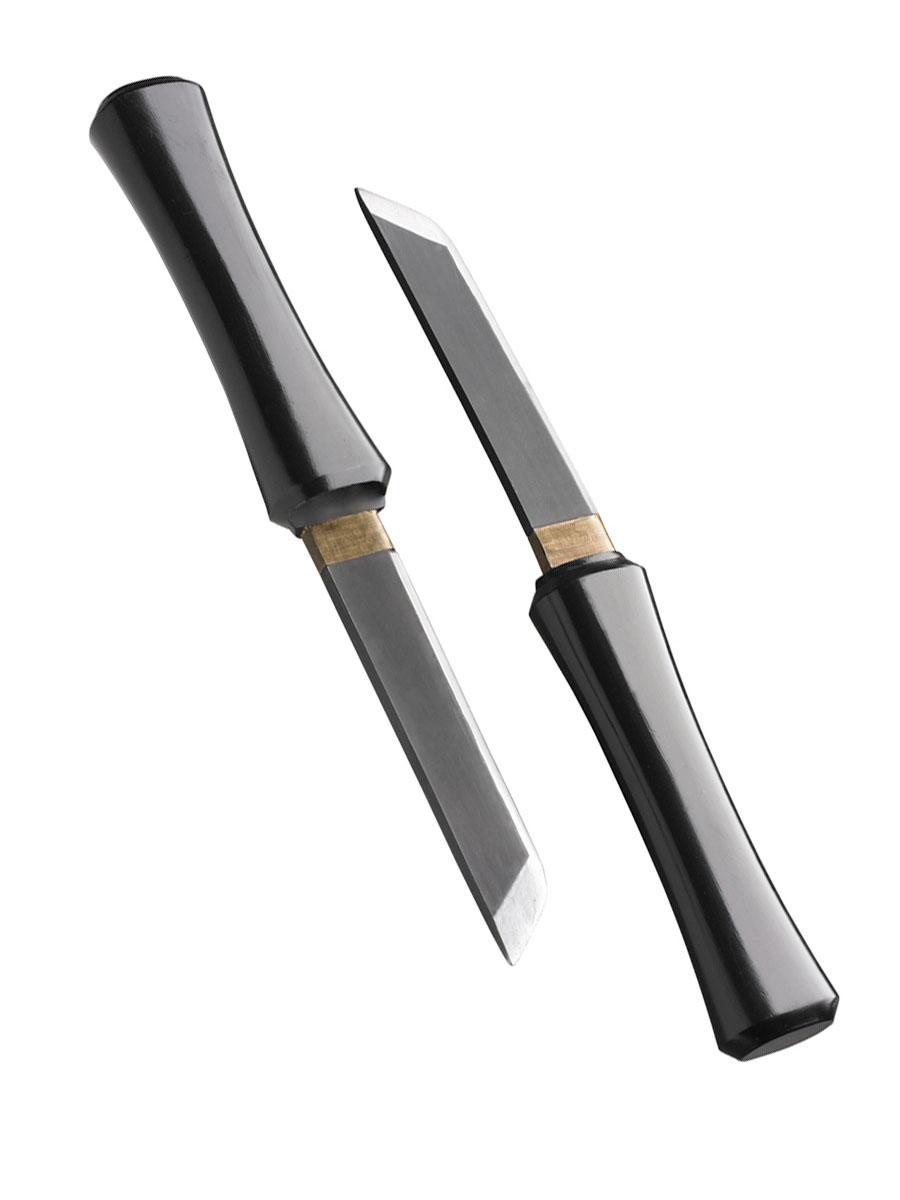 Épées & Couteaux Couteaux Ninja 2 en 1 caché
