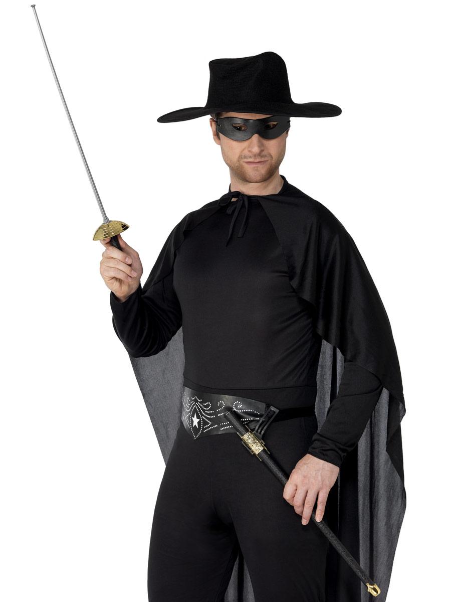 Épées & Couteaux Épée de la rapière et ?il masque Pvc noir