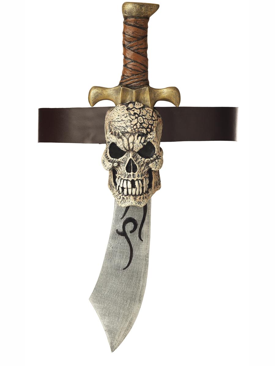 Épées & Couteaux Épée de pirate et gaine de crâne