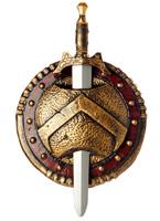 Épée et bouclier de Combat spartiate Épées & Couteaux
