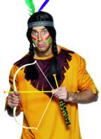 Flèche et arc indien mis en plastique Épées & Couteaux
