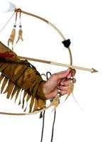 Arc indien Deluxe et jeu de flèche Épées & Couteaux