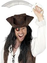 Pirates Cutlass & cache-oeil Épées & Couteaux