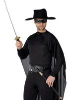 Épée de la rapière et ?il masque Pvc noir Épées & Couteaux