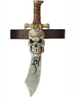 Épée de pirate et gaine de crâne Épées & Couteaux