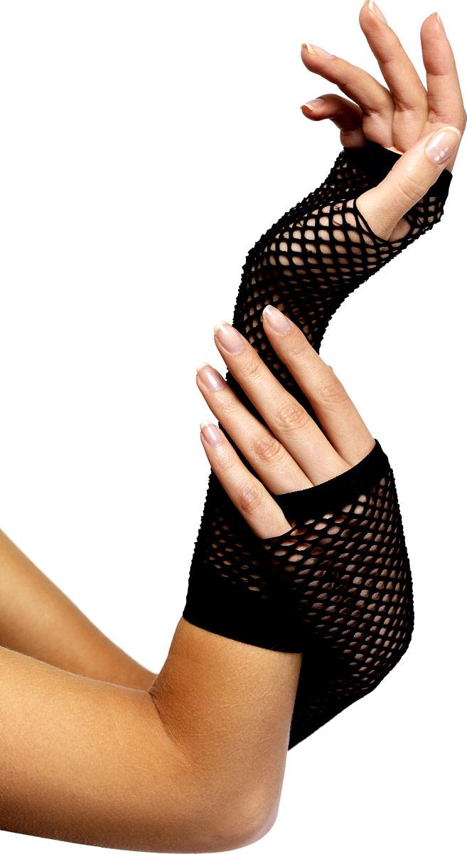Gants Résille gants noir