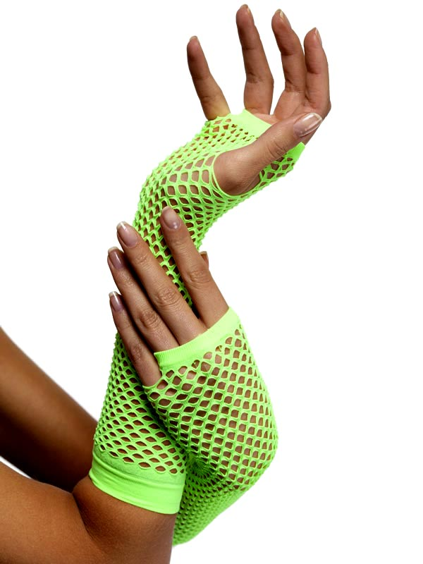 Gants Résille gants Neon Green