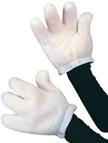 Gants de main de dessin animé Gants