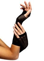 Résille gants noir Gants