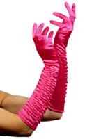 Longtemps tentatrice gants rose vif Gants