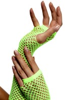 Résille gants Neon Green Gants