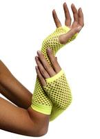 Résille gants Neon Yellow Gants
