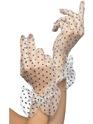 Gants 80 s dotty filet gants