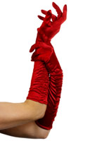 Temptress longs gants rouge Gants