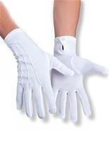 Deluxe blanc nervuré gants Gants