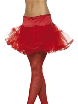 Jupon Tulle rouge Jupons & Tutus