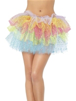 Sparkle Rainbow Tutu Jupons & Tutus