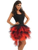Tutu Burlesque rouge & noir Jupons & Tutus