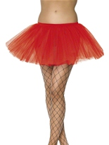 Tutu en couches jupon rouge Jupons & Tutus