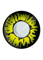 Panthère jaune lentilles de Contact Lentilles de contact