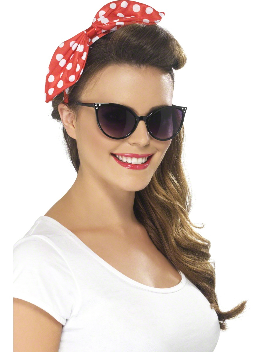 50 39 s cat eye specs lunette de soleil accessoire deguisement 02 09 2018. Black Bedroom Furniture Sets. Home Design Ideas