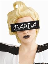 Lady Gaga verres noirs Lunette de soleil