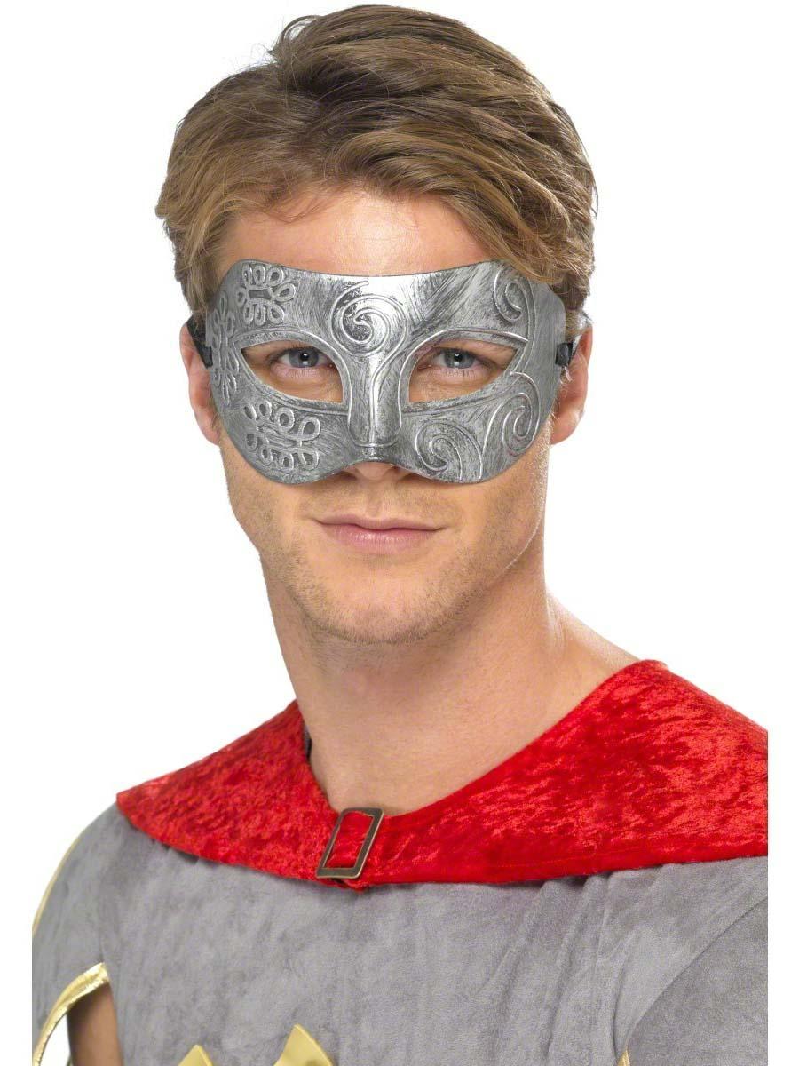 Loups Guerrier métallique Columbina masque