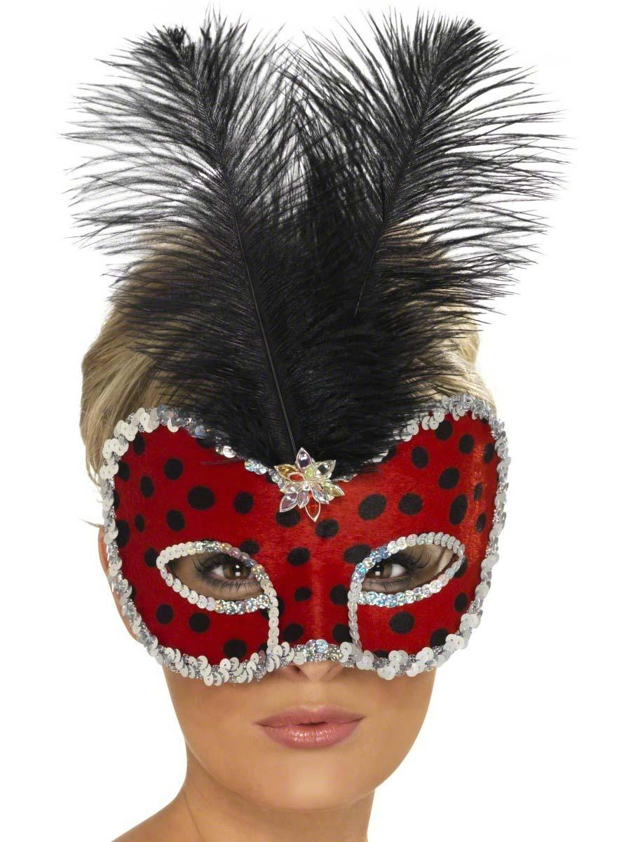 Loups Lady Bug Visage Eyemask