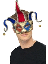 Jester Musical vénitien Eyemask Loups