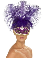 Purple Can Can Eyemask de beauté Loups