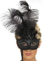 Fantaisie Baroque noir Eyemask Loups