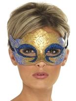 Masque de Venise Colombina Farfalla Glitter Loups