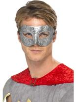 Guerrier métallique Columbina masque Loups