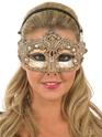 Loups Masque d'or oeil décoratifs