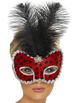 Lady Bug Visage Eyemask Loups