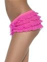Sous-vêtements Ruffle Lace culotte Neon Pink