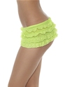 Sous-vêtements Ruffle Lace culotte Neon Green