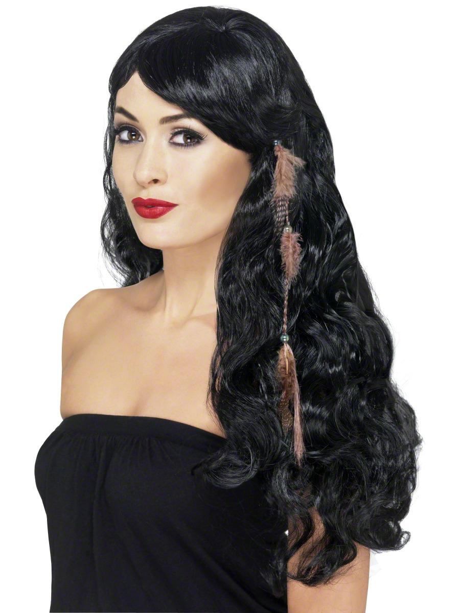 Bandeaux & Postiches Accessoire de cheveux à clips Indiens