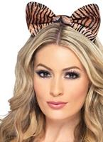 Tiger imprimer oreilles Bandeaux & Postiches