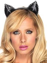 Serre-tête oreilles de Kitty Bandeaux & Postiches