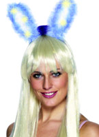 Marabout s'allument & Glow Bunny Ears Bandeaux & Postiches