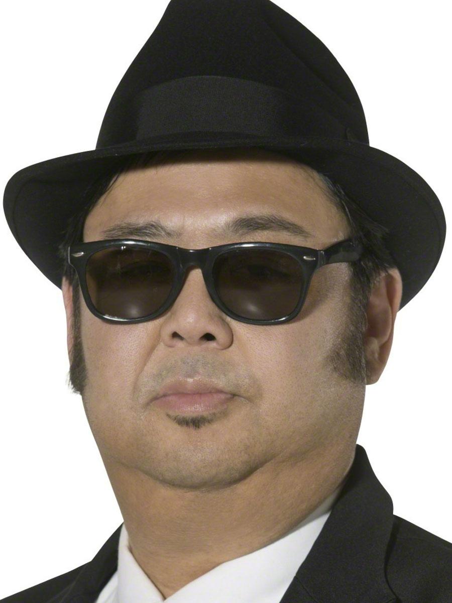 Borsalino Chapeau Blues Brothers Fedora chapeau de feutre noir