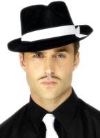 Al Capone chapeau noir troupeau Borsalino Chapeau