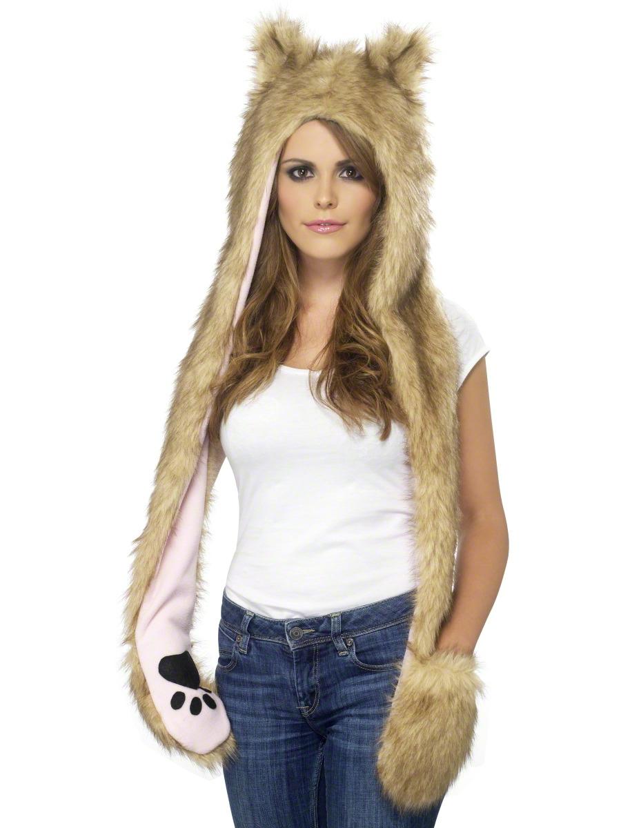 Chapeaux Animaux Loup des bois