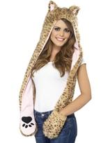 Capuche léopard Chapeaux Animaux