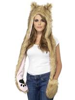 Loup des bois Chapeaux Animaux