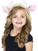 Oreilles de vache pour enfants sur le bandeau Chapeaux Animaux